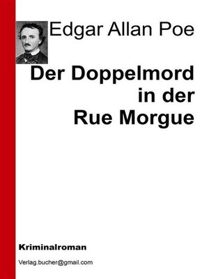 cover image of Der Doppelmord in der Rue Morgue