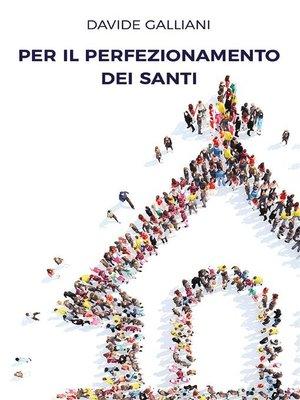 cover image of Per il perfezionamento dei santi