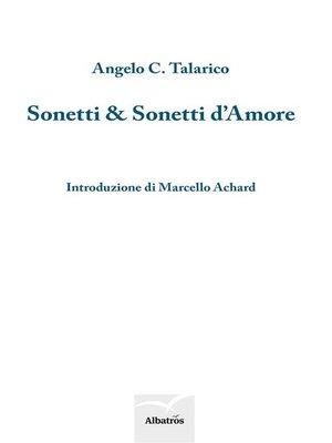 cover image of Sonetti e Sonetti d'Amore