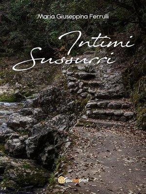 cover image of Intimi sussurri