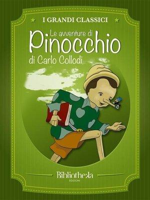 cover image of Le avventure di Pinocchio