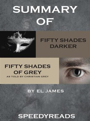 cover image of Summary of Fifty Shades Darker and Grey--Fifty Shades of Grey as Told by Christian Boxset