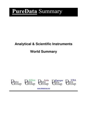 cover image of Analytical & Scientific Instruments World Summary
