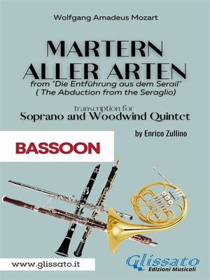 cover image of Martern aller Arten--Soprano and Woodwind Quintet (Bassoon)