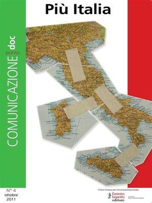 cover image of Comunicazionepuntodoc numero 4. Più Italia