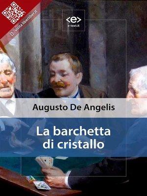 cover image of La barchetta di cristallo