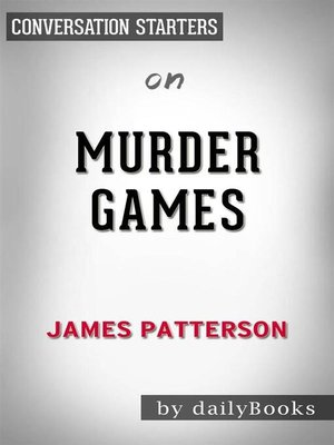 cover image of Murder Games--by James Patterson​​​​​​​