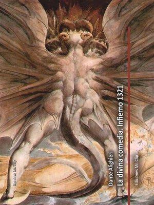 cover image of La divina comedia. Infierno 1321