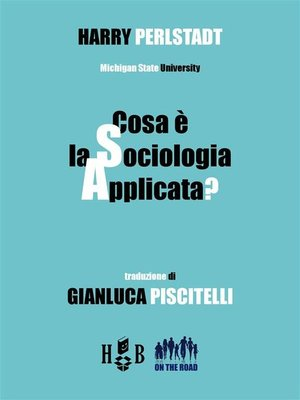 cover image of Cosa è la sociologia applicata?