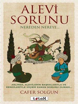 cover image of Alevi Sorunu