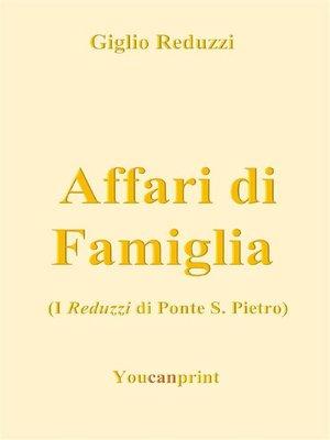 cover image of Affari di Famiglia