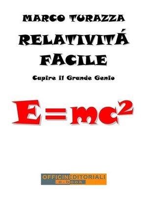 cover image of Relatività Facile