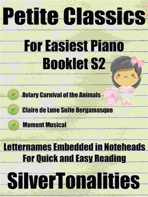 cover image of Petite Classics for Easiest Piano Booklet S2