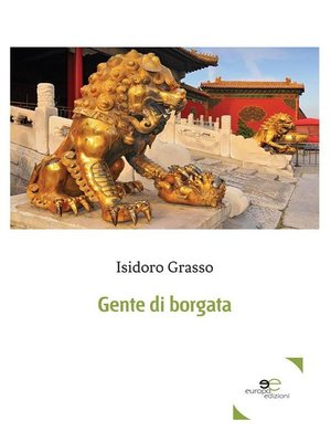 cover image of Gente di borgata