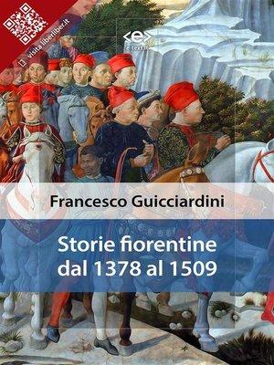 cover image of Storie Fiorentine dal 1378 al 1509
