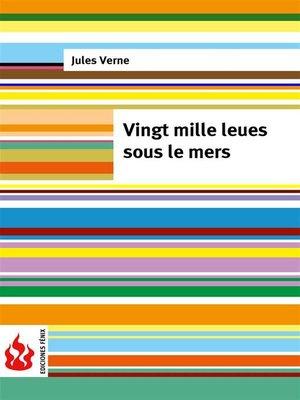 cover image of Vingt mille leues sous le mers