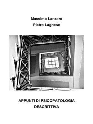cover image of Appunti di psicopatologia descrittiva