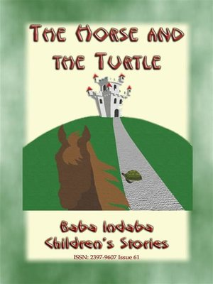 cover image of THE HORSE AND THE TURTLE--A Jamaican Anansi Story