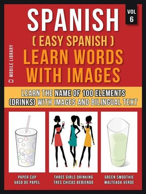 cover image of Spanish ( Easy Spanish ) Learn Words With Images (Vol 6)