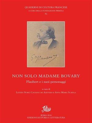 cover image of Non solo Madame Bovary