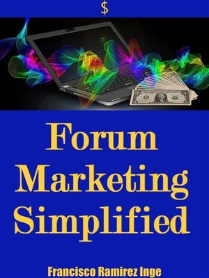 cover image of Forum Marketing Simplified