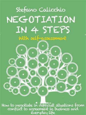 cover image of Negotiation in 4 steps