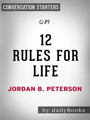 cover image of 12 Rules For Life--by Jordan Peterson