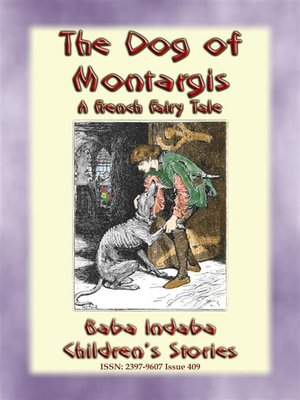 cover image of THE DOG OF MONTARGIS--A French Legend