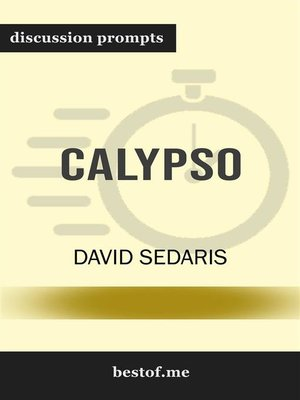 "cover image of Summary--""Calypso"" by David Sedaris 