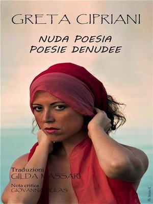 cover image of Nuda Poesia Poésie Dénudée