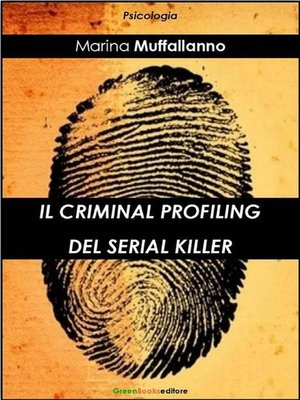 cover image of Il criminal profiling del serial killer