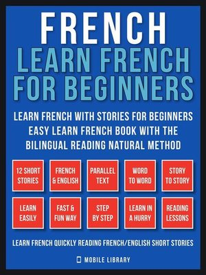 cover image of French--Learn French for Beginners--Learn French With Stories for Beginners (Vol 1)