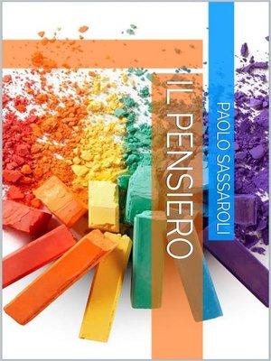 cover image of Il pensiero