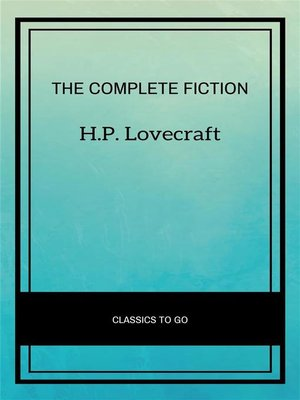 cover image of The Complete Fiction