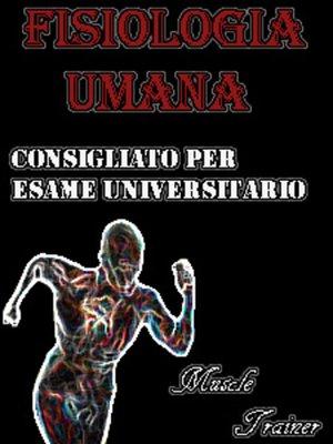 cover image of Fisiologia Umana