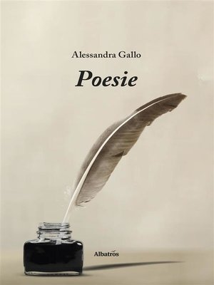cover image of Poesie