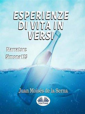 cover image of Esperienze Di Vita In Versi