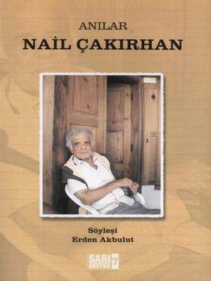 cover image of Anılar Nail Çakırhan