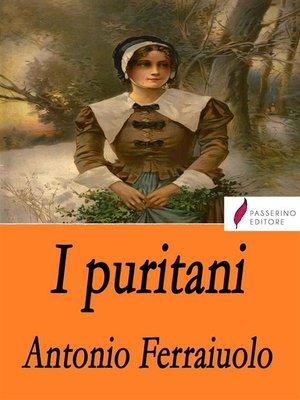 cover image of I puritani