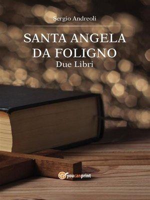 cover image of Sant'Angela da Foligno. Due libri