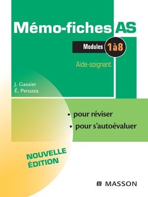 cover image of Mémo-Fiches AS--Modules 1 à 8