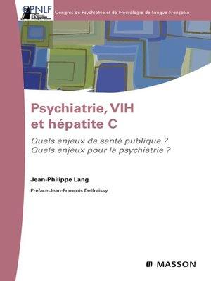 cover image of Psychiatrie, VIH et hépatite C