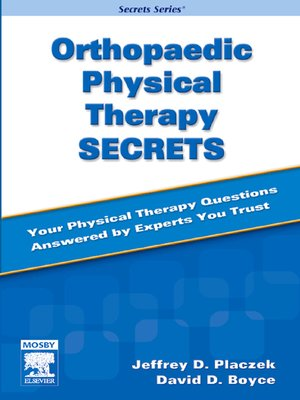 cover image of Orthopaedic Physical Therapy Secrets--E-Book
