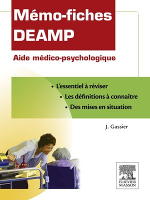 cover image of Mémo-fiches DEAMP