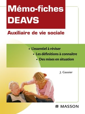 cover image of Mémo-fiches DEAVS