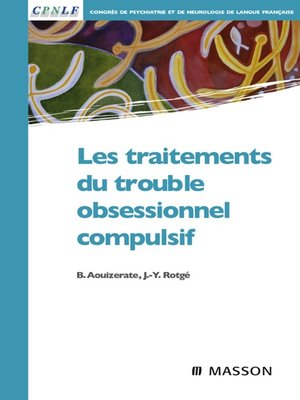 cover image of Les traitements du trouble obsessionnel compulsif