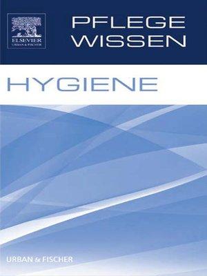cover image of PflegeWissen Hygiene
