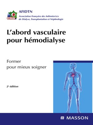 cover image of L'abord vasculaire pour hémodialyse