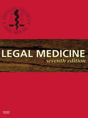 cover image of Legal Medicine E-Book