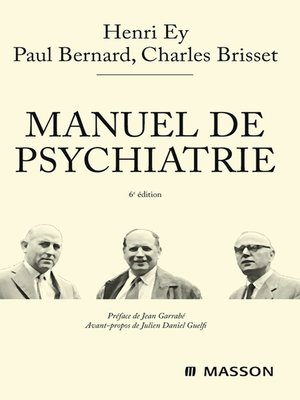 cover image of Manuel de psychiatrie